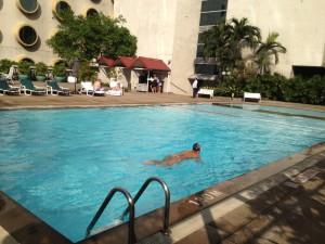 Holiday Inn PoolCopyright 2012 Mike Flinchum