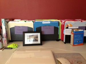 New and improved desk space