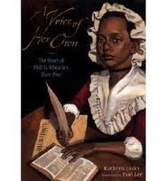 a voice of her own phillis wheatley