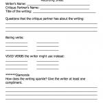 screen shot of vivid verbs sheet