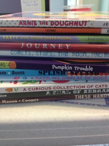 Our latest library stack