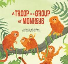 a troop is a group of monkeys