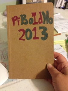 2013 PiBoIdMo Journal
