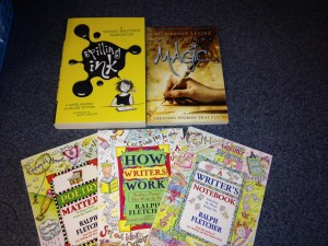 writing books as prizes