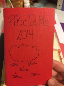 This year's PiBoIdMo Journal