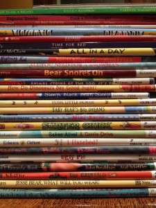 Stack of Rhyming Books