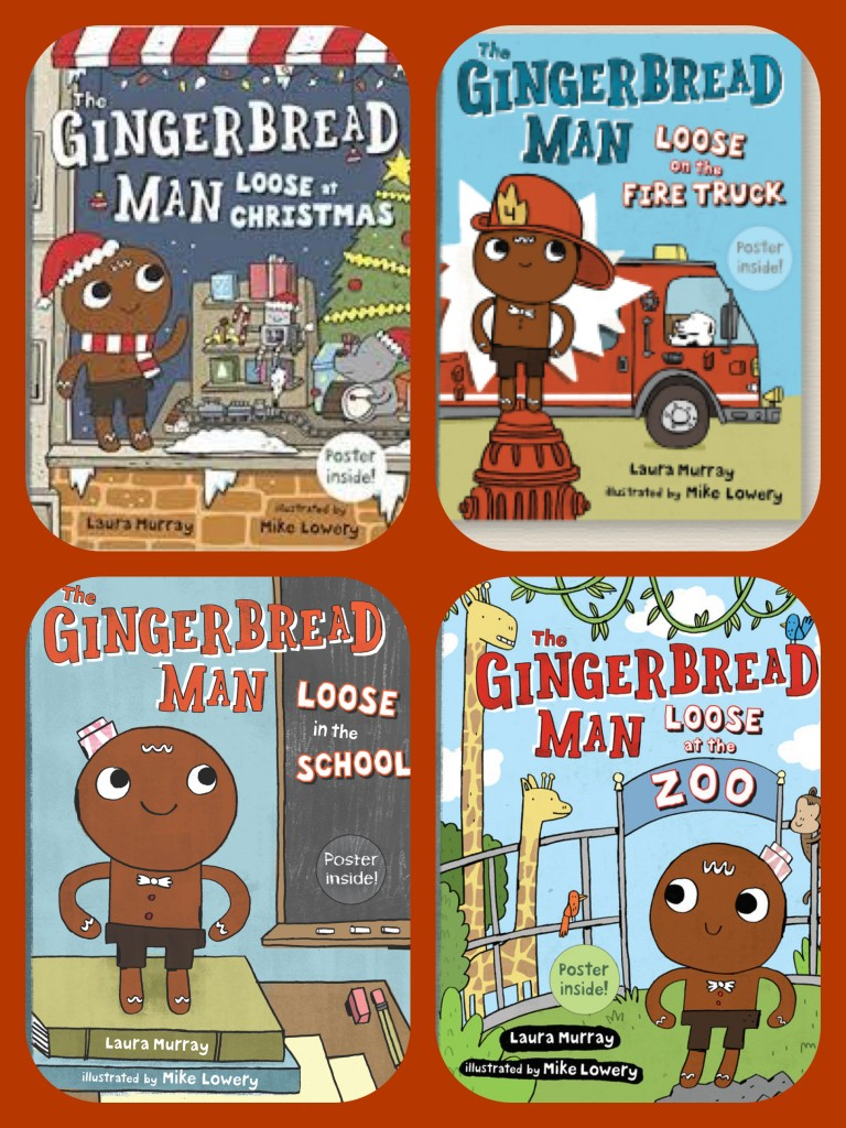 collage of gingerbread men